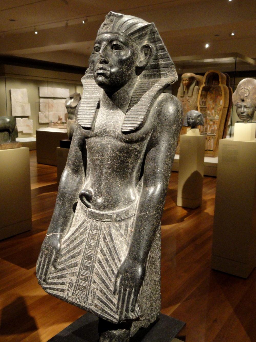 Statue_of_Amenemhat_III,_about_1859-1814_BC,_Middle_Kingdom,_Dynasty_12,_reign_of_Amenemhat_III,_granodiorite_-_Cleveland_Museum_of_Art_-_DSC08649