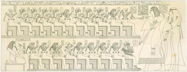 Lepsius-Denkmahler - topright amunhotep i - ahmose i - ahhotep
