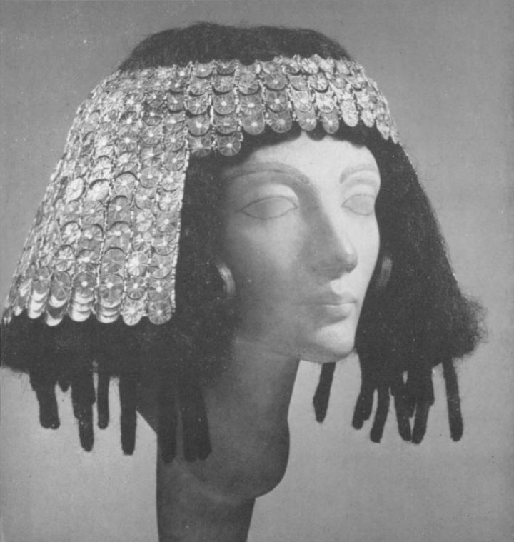 egyptian art met museum - wig 1