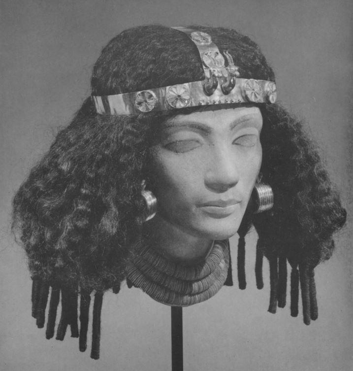 egyptian art met museum - wig 2