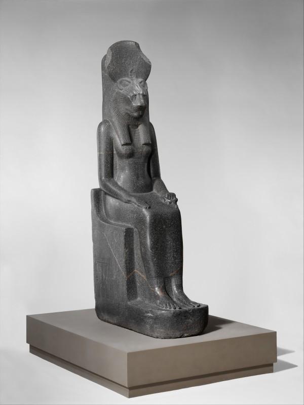 podcast episode 99 sakhmet statue (Met Museum)