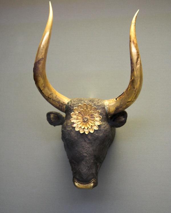 102. Bulls Head Mycenae