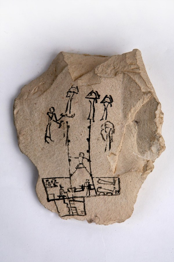 Ostracon 5886 second version