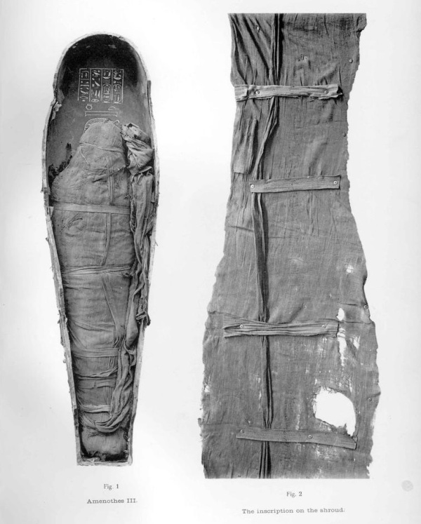 107. Amunhotep III mummy