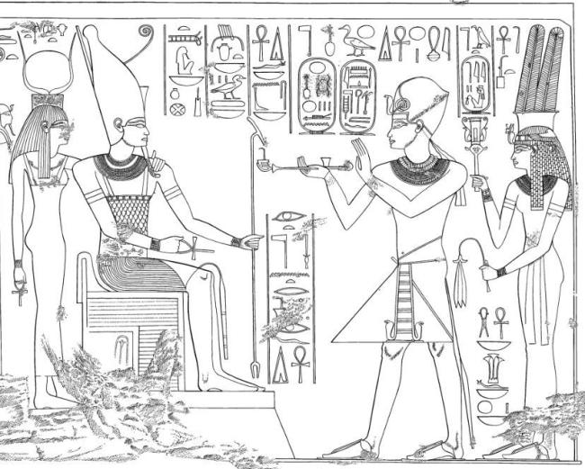 108.1 A4 and Tiye (Kheruef TT192)