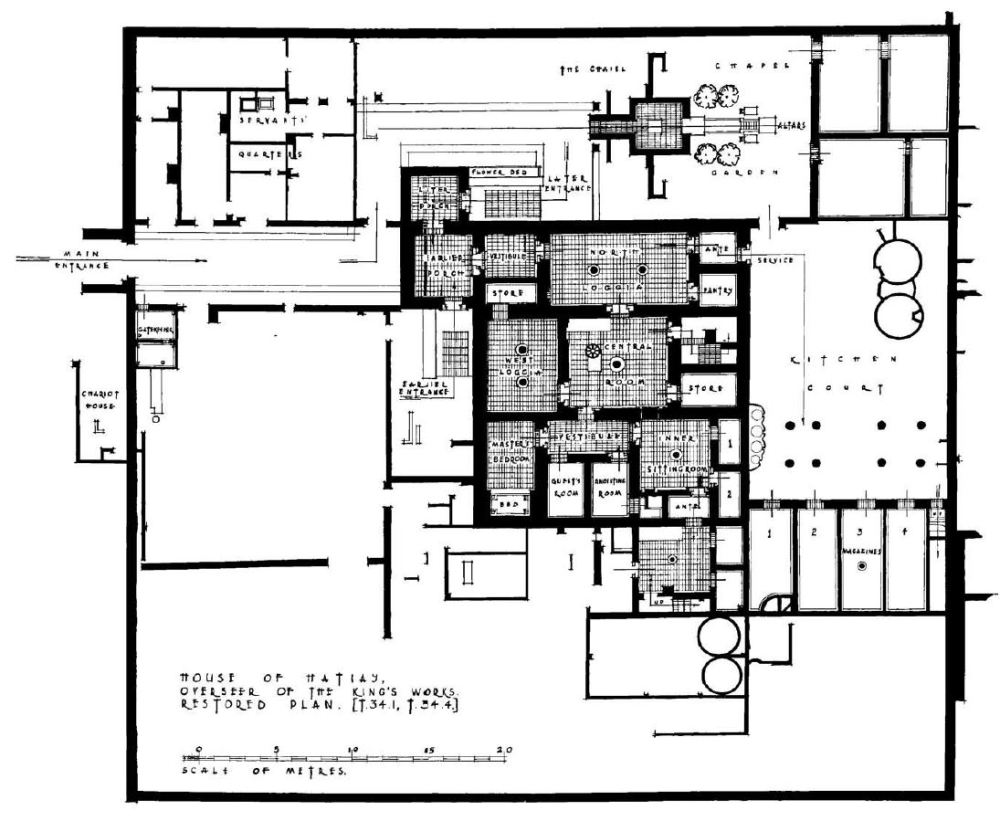 115. House of Hatiay (Pendlebury 2, plate XV)