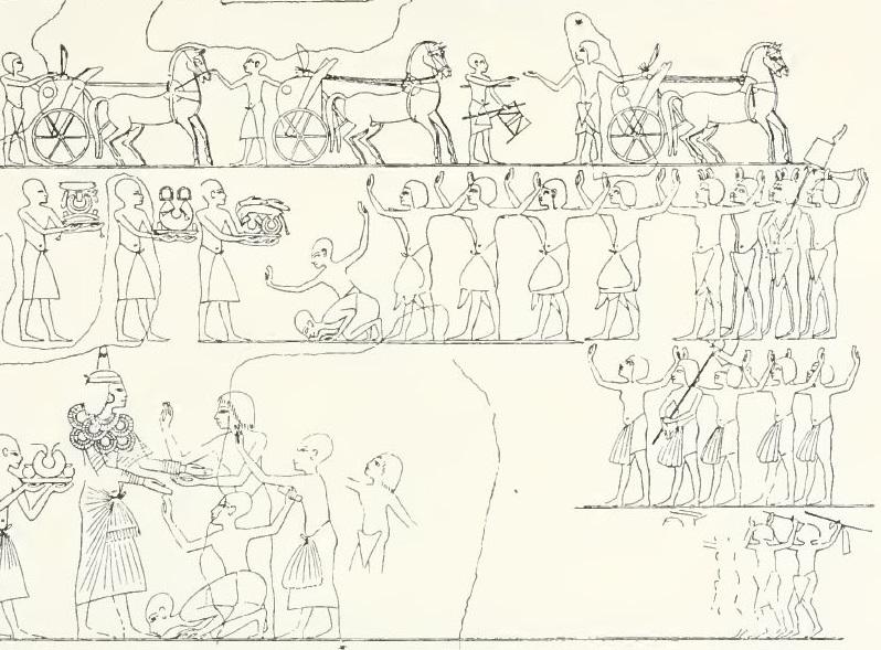 116. Tomb of Aye rewarding 2 (Davies pl XXX).JPG