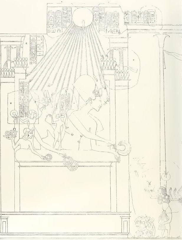 116. Tomb of Aye rewarding (Davies pl XXIX) - Copy.JPG