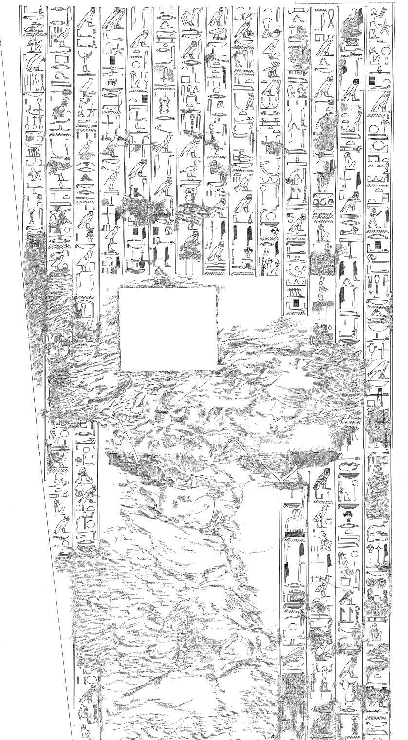 117. Kheruef Setting Sun (OIP 1980 plate 7)
