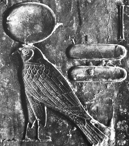 117. Ra-Horakhty (Kheruef plate 16)