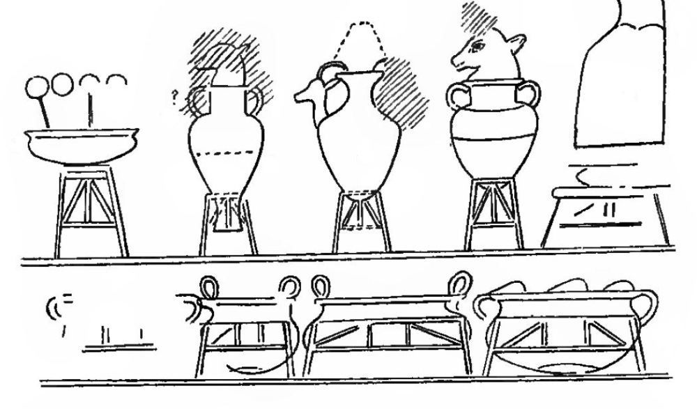 121. Foreign gifts Aegean vases (D3 plate 14)