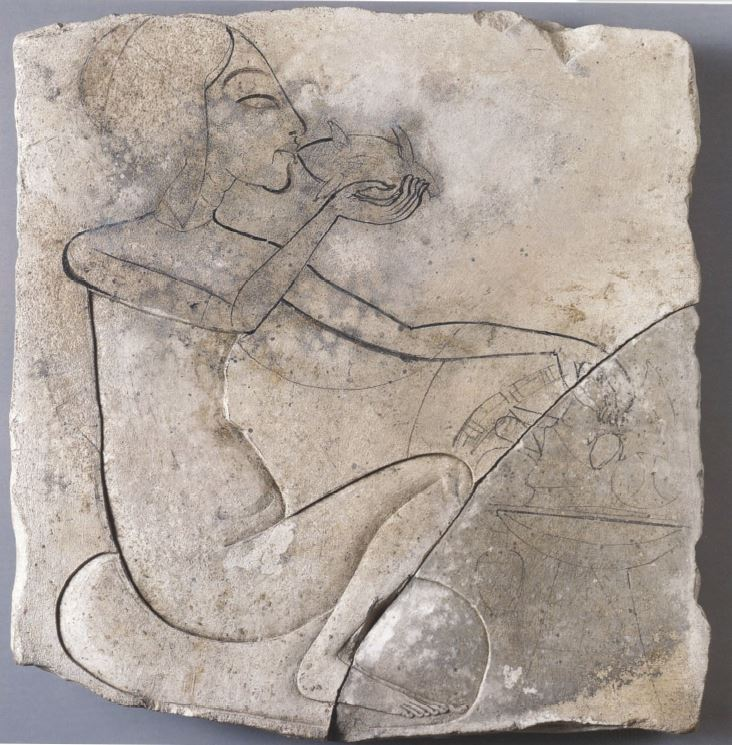 123. Princess eating a duck (Royal women fig 108, Cairo)