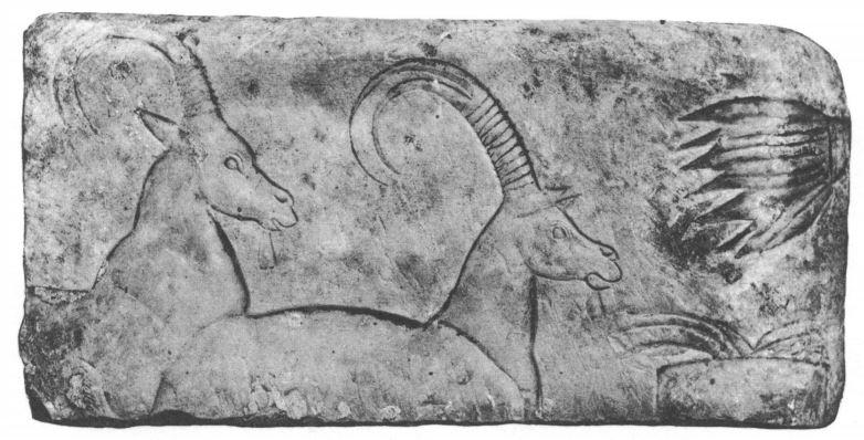 125b. North Palace animal mangers (Newton 1924) 2